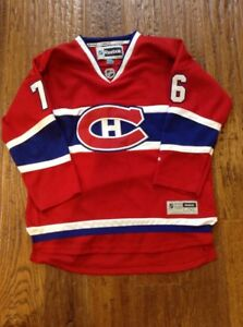 Image is loading Montreal-Canadiens-P-K-Subban-RBK-Youth-XL-Jersey b7aea6ae7