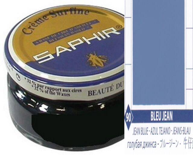 Bleu Cirage 90 Avel Chaussure Surfine Saphir Cuir Jean Pommadier wx1xr74