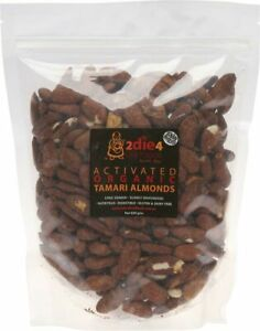 Details about Activated Organic Tamari Almonds 600g - 2DIE4 Live Foods