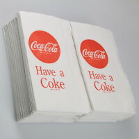 Coca-cola Have A Coke Tall Napkins 100 Pack Diner Tabletop Vintage-style