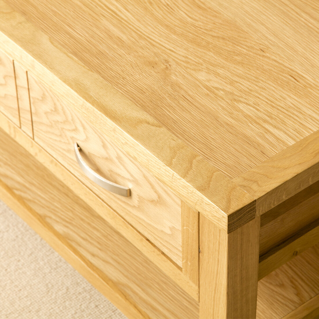 Londres Roble Mesa De Café / Luz Salón De Roble Mesa De Salón Luz / sólida mesa de madera / Nuevo 6cff14