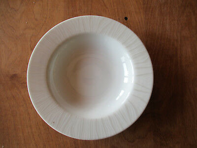 "ROYAL WORCESTER MIRAGE DINNER PLATE 10 1//2/"" WHITE LINE DESIGN ON WHITE"