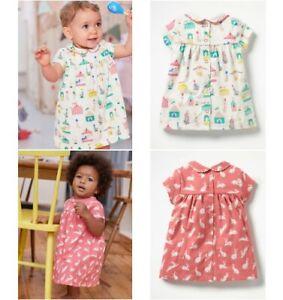 000d8248c486 Baby Girls Peter Pan Collar New Ex Mini Boden Jersey Dress 0-4y ...