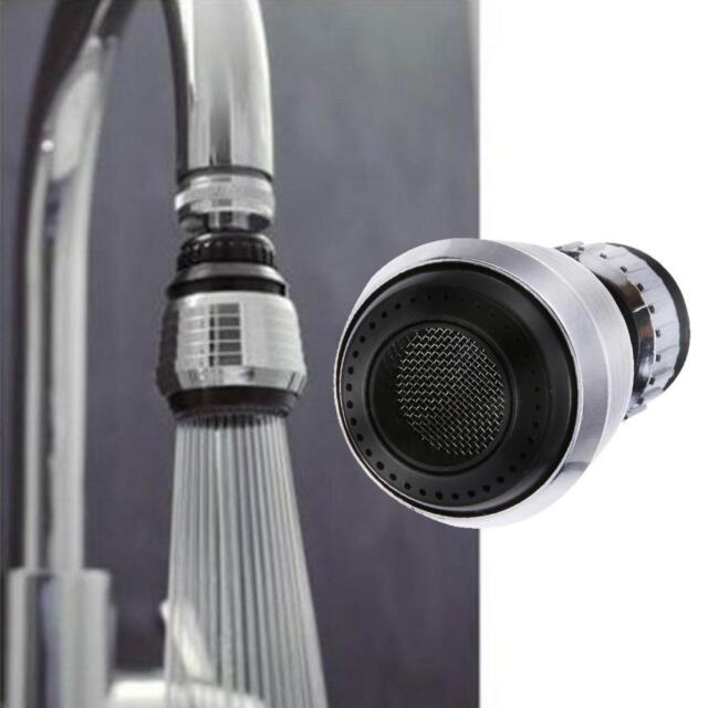 Kitchen Faucet Bubbler Water Saving Bathroom Shower Head Filter Nozzle Single