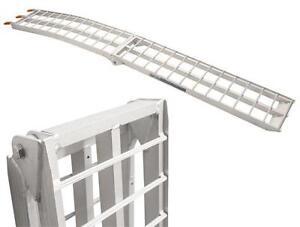 Details about SRT Aluminum Folding Arched Ramp 90