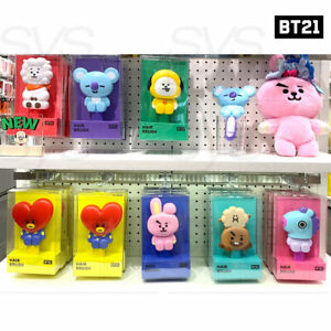 BTS BT21 Official Authentic Goods Hair Brush 7Characters By LINE FRIENDS