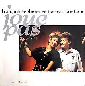Francois-Feldman-Et-Joniece-Jamison-12-039-039-Joue-Pas-France-VG-VG