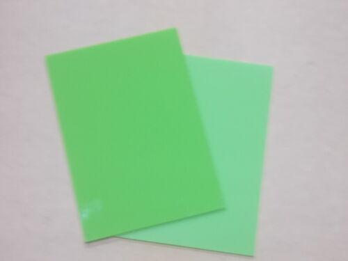 5mm A5  LIME GREEN ACRYLIC CAST PLASTIC ALTUGLAS  SHEET 210MM X 148MM