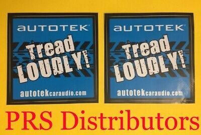 AUTOMATE CAR Truck Motorcycle ALARM SECURITY WINDOW STICKER DECALS 1 Pair
