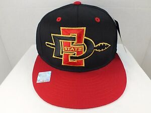 San Diego State AZTECS NCAA Retro Vintage  Snapback Hat Cap  New by eclipse