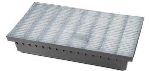Bielbet Schuhabstreifer Abtreter Fußmatte verzinkt 58x37x10 cm mit Stahlrost