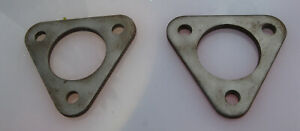 Corvette-1953-1954-2066-SA-Carb-Metal-Thin-Material-Triangle-Spacer-Spacers-Pair