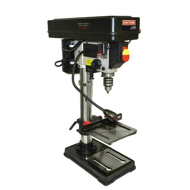 """Craftsman 10"""" Bench Drill Press with Guiding Laser - Brand N"""