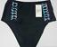 NEW Women/'s Costa Del Sol Plus Size High Waist Bikini Bottoms Size 1X Black NWT