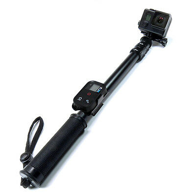 "SANDMARC Pole - Black Edition: 17-40"" Waterproof Stick for GoPro Hero 7, 6, 5, 4"
