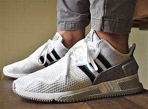 b82eb218caeb Adidas Originals EQT Cushion ADV New Men s Casual Shoes White Green ...