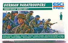 ESCI ERTL #244 - 1/72 scale WWII German Paratroopers Green Devils - mint in box