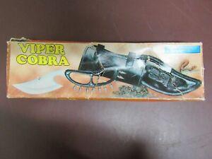 "Viper Cobra 10"" Knife, Vintage/Rare, Original Box, New"