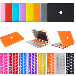 Rubberized-Hard-Case-Keyboard-Cover-LCD-Film-For-Apple-Mac-Book-Air-11-034-13-034-Pro