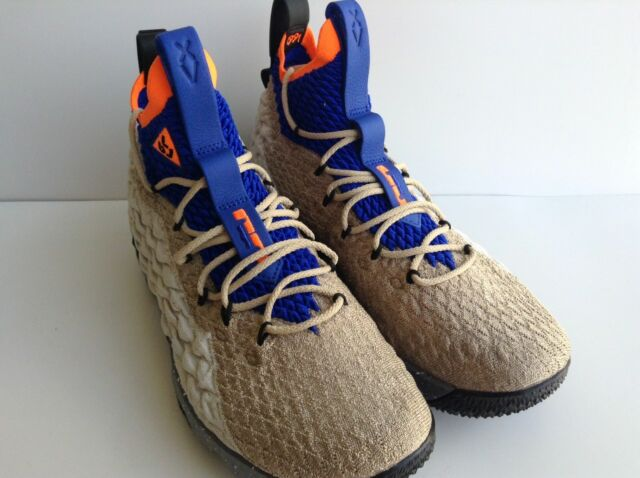 separation shoes 68bdf 0b236 Nike Lebron Watch 15 XV KSA Mowabb ACG QS OG Knicks Multicolor Ar4831-900  Sz 9.5