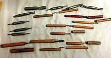 Bits Metal Milling Cleveland Twist Drill Company Drill Bit Lot 17 Count