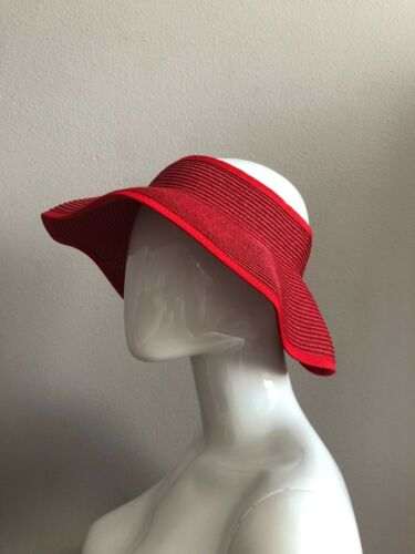 New San Diego Hat Company Women/'s Visor Packable Bounces Back Red