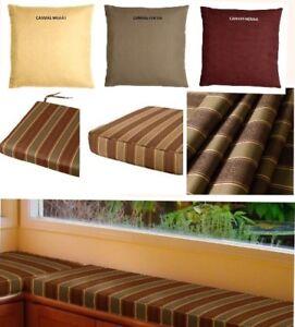 Custom Bench / Window Seat Cushion, indoor/outdoor SUNBRELLA ...