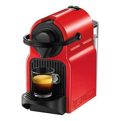 Krups XN 1005 Inissia Ruby Red Nespresso rot Kapselsystem 19 bar Flow-Stop