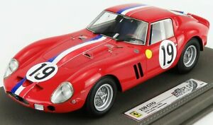 BBR-MODELS 1/18 FERRARI | 250 GTO COUPE ch.3705gt TEAM PIERRE NOBLET N 19 2nd...