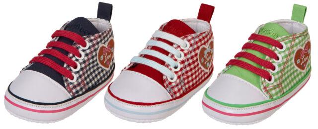 Playshoes Baby Canvas-Turnschuh Landhaus