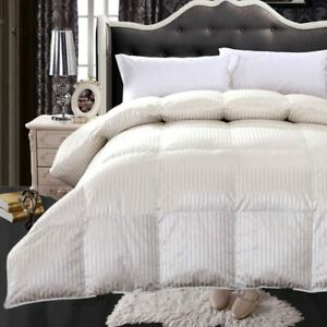 Royal Hotel 900 Thread Count Silk Amp Goose Down Striped