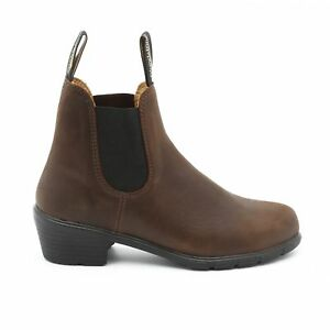 d911b14a0e29 Image is loading NEW-Blundstone-Style-1673-Brown-Heeled-Boot-Leather-