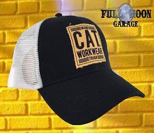 29483ff50c168 Image is loading New-Caterpillar-Workwear-Tough-Cat-Snapback-Mens-Trucker-