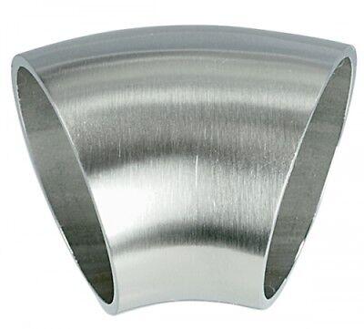 Geschliffen Modische Muster 45° Bogen Zum Anschweißen Für Rohr ø 33,7mm Wandstärke 2,0mm