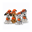 Halloween-Pawpals-8-034-Beagle-Dog-with-Hat-and-Halloween-Jack-O-Lantern thumbnail 3