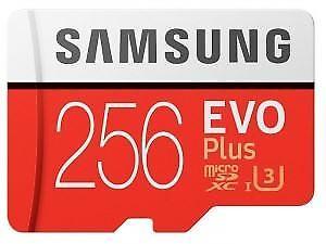 Samsung-EVO-Plus-256-GB-Micro-SD-SDXC-90-MB-U3-UHS-I-tarjeta-Inc-Adap-256-GB