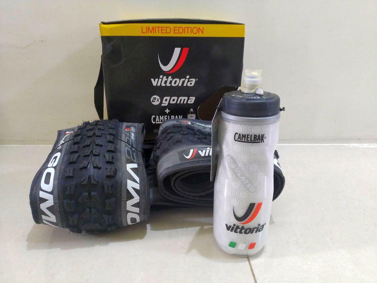 Vittoria GOMA  29X2.25 TNT Folding Tire X2 Plus 1 Camelbak Bottle Limited Edition  60% off