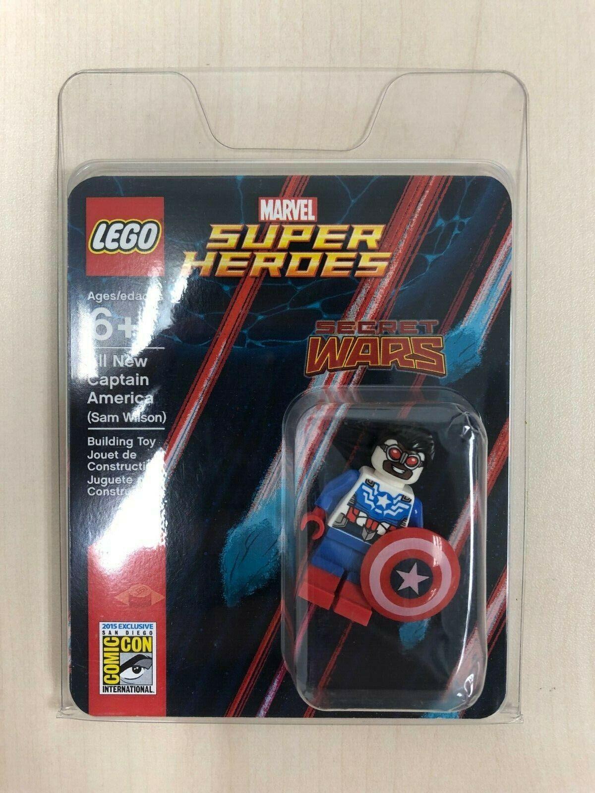 sconto prezzo basso LEGO SDCC 2015-4   tutti tutti tutti nuovo Captain America (Sam Wilson) Mincifra nuovo  ci sono più marche di prodotti di alta qualità