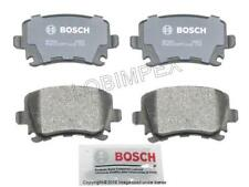 Rear Audi A4 Quattro 2005-2009 Disc Brake Pad Bosch QuietCast 8E0698451J