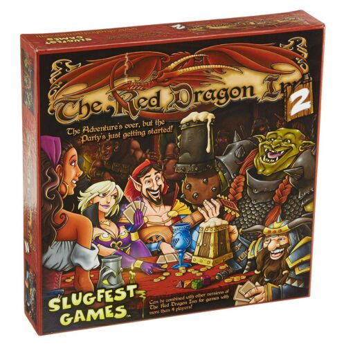 The Red Dragon Inn 2 The Board Game NEW IN STOCK Competitive Game