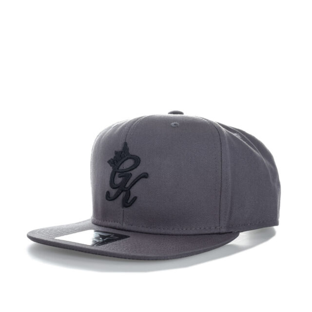 Gym King Mens Snapback Cap in Grey - One Size From Get The Label  3bb71786e5e