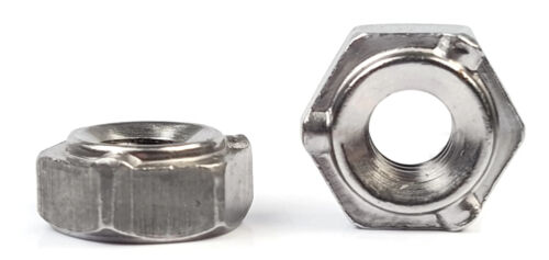 UNC Coarse Sizes QTY 1,000 Hex Weld Nuts Steel Short Pilot 3 Projections