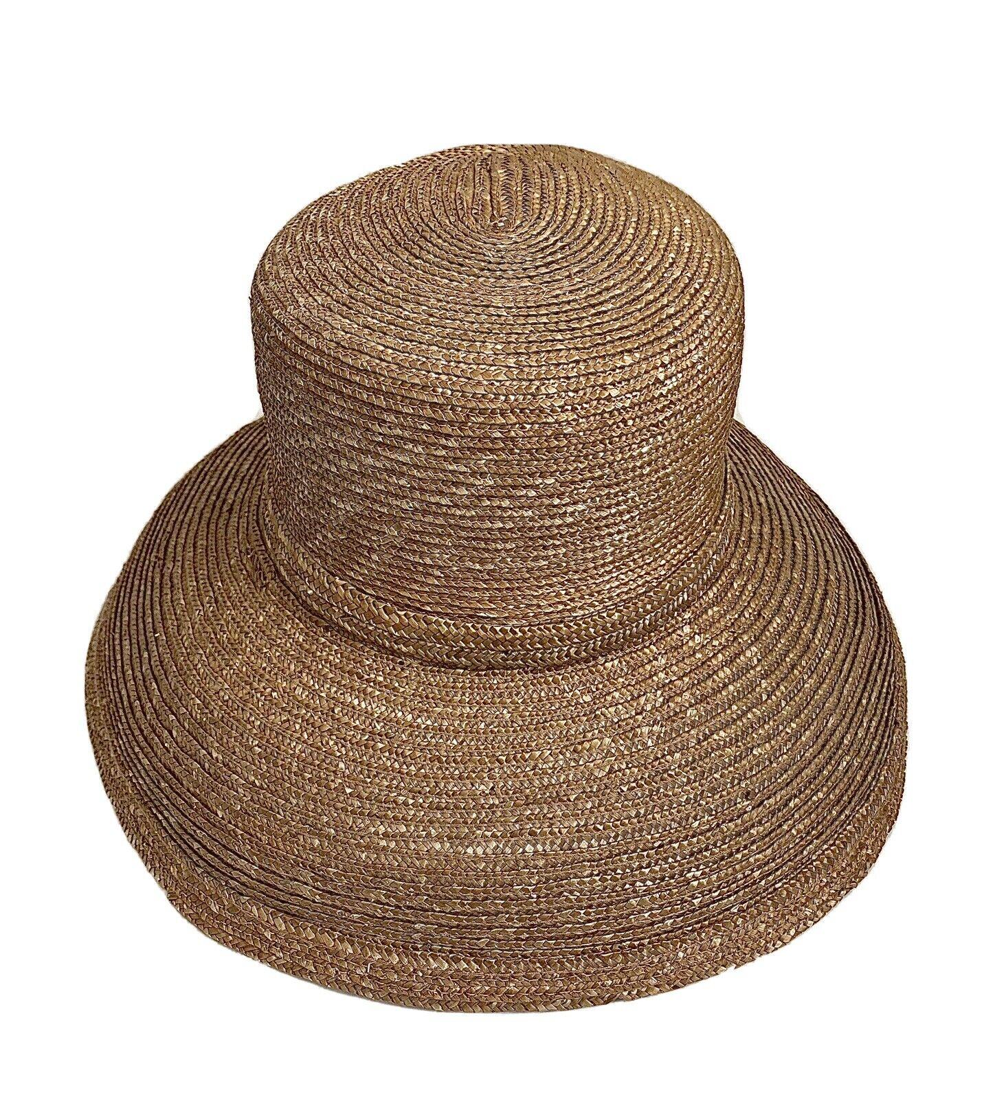 Eric Javits Straw Rolled Brim Hat - image 1