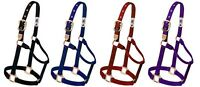 Classic Weaver Horse Nylon Halter Yearling 300-500lb Below Wholesale Prices