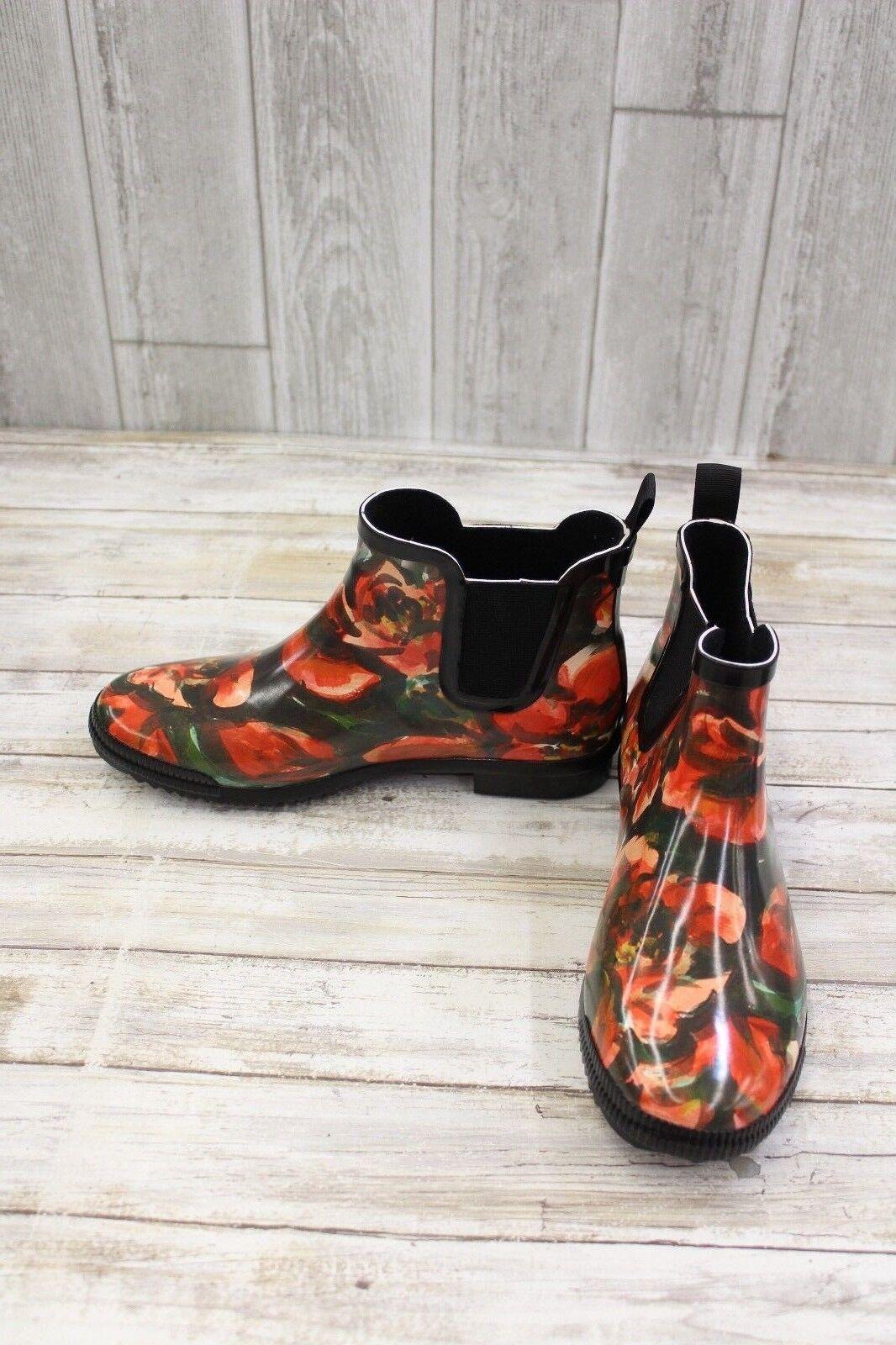 Cougar Kensington Rubber Ankle Boots - Women's Size 8 Floral