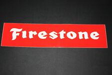 Firestone Reifen Tire Pneu Aufkleber Sticker Decal Kleber Logo Schriftzug XXL