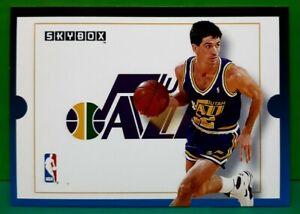 John Stockton subset card 1992-93 Skybox #307