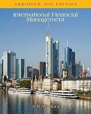 International Financial Management, Abridged by Jeff Madura (2015, Paperback)