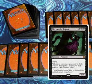 mtg-BLACK-CONTROL-DECK-Magic-the-Gathering-rares-60-cards-bone-dragon-yargle