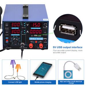 Loetstation-Loetkolben-Set-3in1-853D-SMT-PID-USB-Heissluftloetstation-650W-4-Duesen